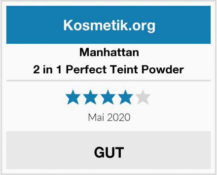 Manhattan 2 in 1 Perfect Teint Powder Test