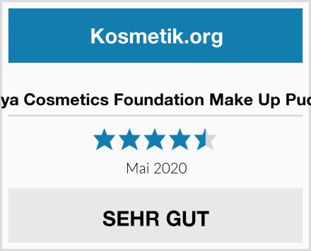 Gaya Cosmetics Foundation Make Up Puder Test