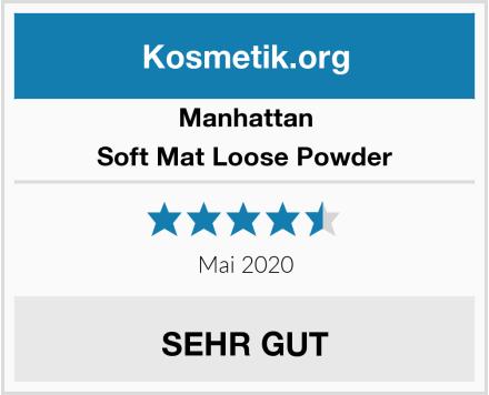 Manhattan Soft Mat Loose Powder Test