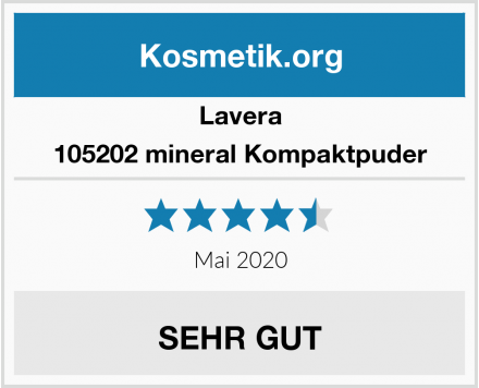 Lavera 105202 mineral Kompaktpuder Test