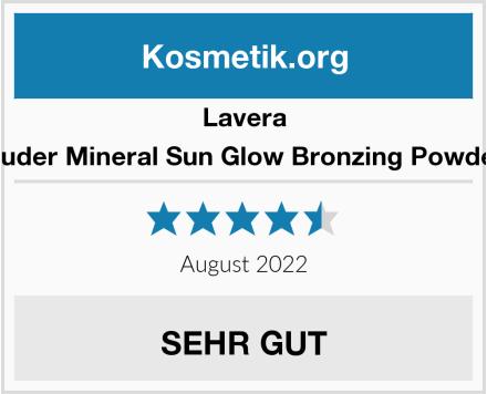 Lavera Puder Mineral Sun Glow Bronzing Powder Test
