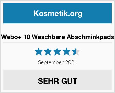 Webo+ Waschbare Abschminkpads Test