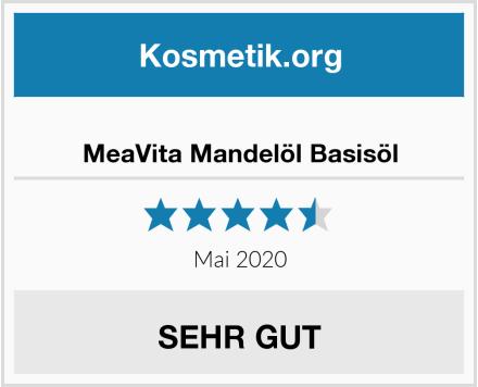 MeaVita Mandelöl Basisöl Test
