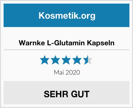 Warnke L-Glutamin Kapseln Test
