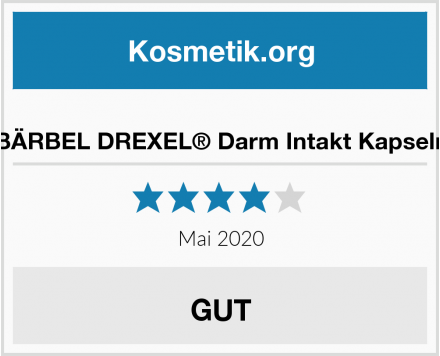 BÄRBEL DREXEL® Darm Intakt Kapseln Test