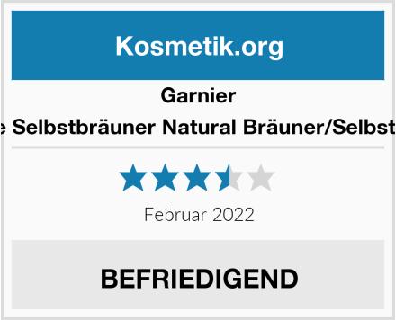Garnier Ambre Solaire Selbstbräuner Natural Bräuner/Selbstbräunugs-Gel Test
