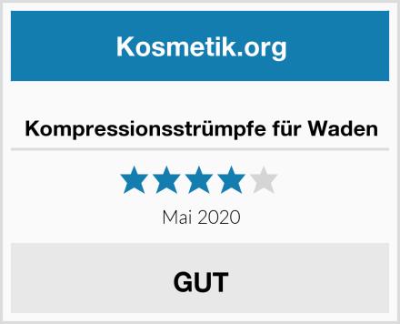 Kompressionsstrümpfe für Waden Test