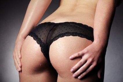 Implantate im Po für einen runden Hintern