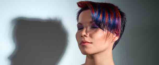 Haarkreide als Alternative zum Färben