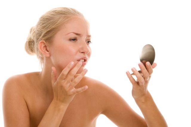 Lästiger Herpes an den Lippen