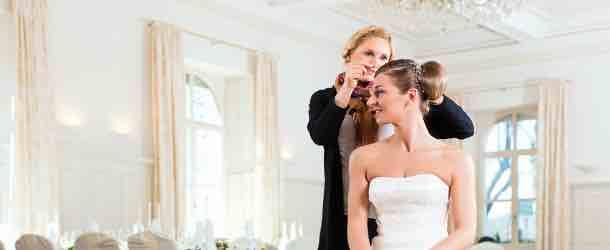 Die perfekte Hochzeitsfrisur