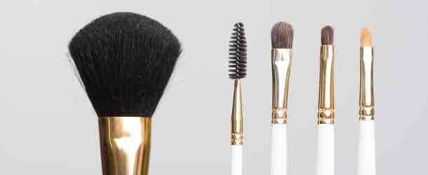 Die wichtigsten Kosmetikpinsel auf einen Blick