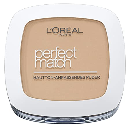 L'Oreal Paris Perfect Match Compact Puder, W5 Golden Sand