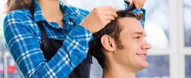 Haarstyling für Männer