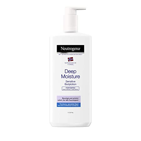 Neutrogena Norwegische Formel Deep Moisture Bodylotion Sensitive