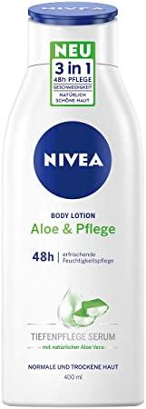 NIVEA ist die Aloe & Pflege Body Lotion