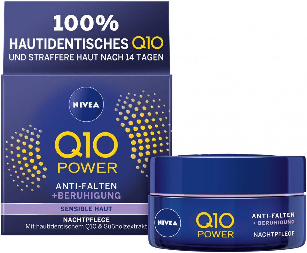 NIVEA Q10 Power Anti-Falten und Reduzierte Sensibilität..