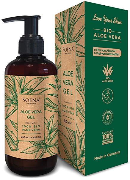 Aloe Vera Gel mit 100% Bio Aloe Vera