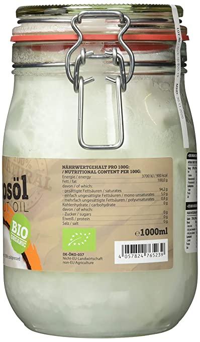 Bio Kokosöl Test