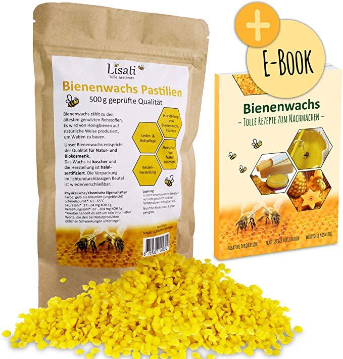 Lisati Bienenwachs-Pastillen vom Imker