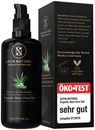 SatinNaturel Aloe Vera Gel BIO 100%