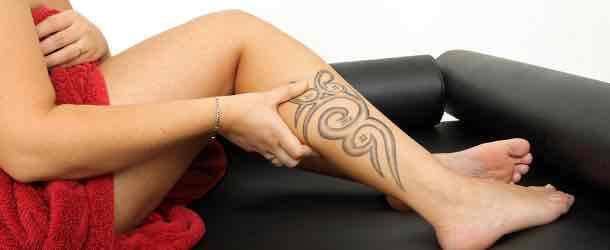 Tattoos entfernen lassen