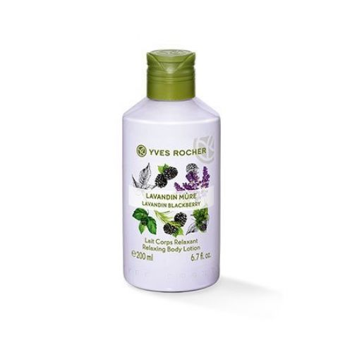 Yves Rocher LES PLAISIRS NATURE Körpermilch Lavendel-Brombeere