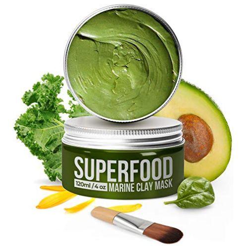 Plantifique Gesichtsmaske mit Avocado & Superfoods