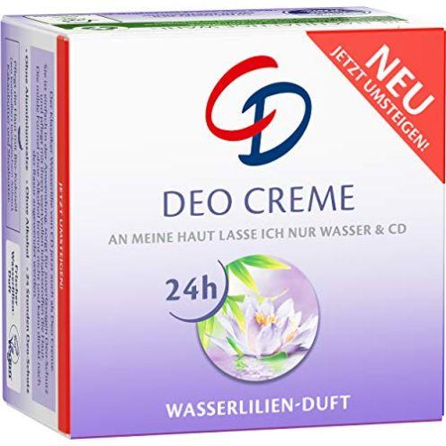 CD Deo Creme mit Wasserlilie