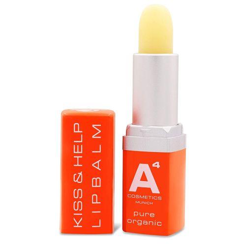 A4 Cosmetics KISS & HELP LIPBALM Lippenpflege