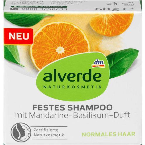 Alverde Shampoo mit Mandarine-Basilikum
