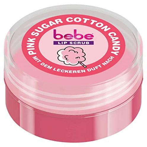 bebe Lip Scrub Pink Sugar Cotton Candy