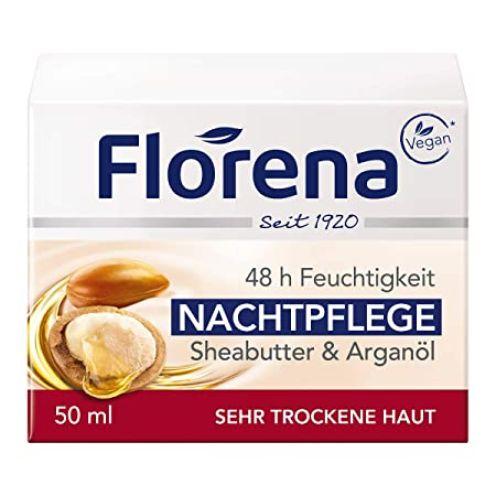 Florena Nachtpflege mit Sheabutter & Arganöl Vegan