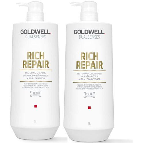 Goldwell Dualsenses Rich Repair Restoring Shampoo und Conditioner