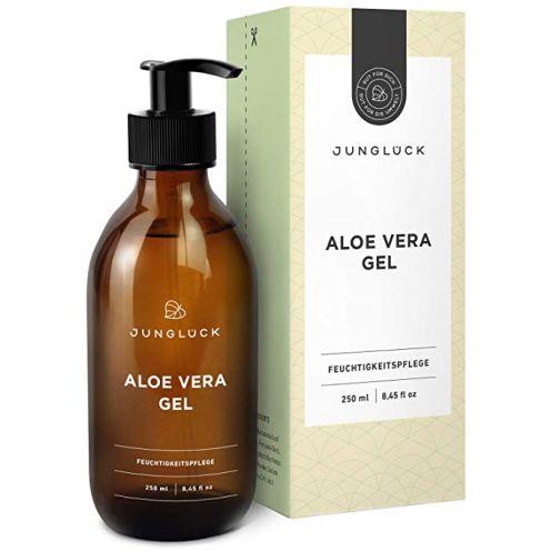 Junglück Junglück Aloe Vera Gel aus 95% Bio Aloe Vera Feuchtigkeitspflege