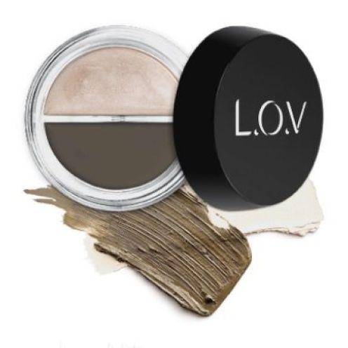 L.O.V. BROWlights Eyebrow Pomade & Highlighter Nr. 110
