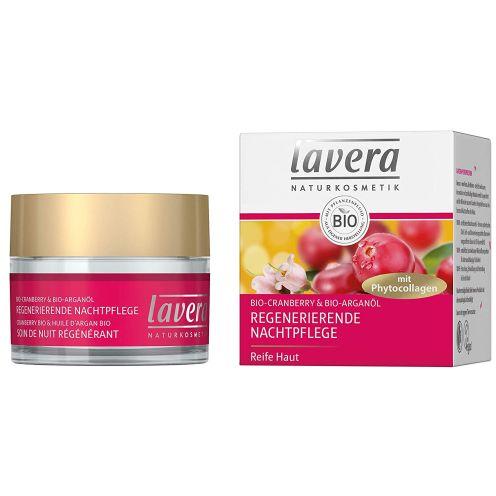 Lavera Regenerierende Nachtpflege mit Phytocollagen