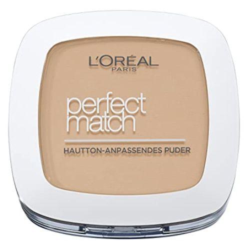 L'Oreal Paris Perfect Match Compact Puder, W5 Golden Sand