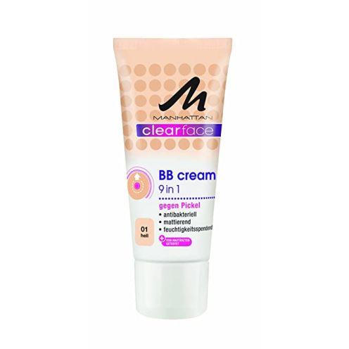 Manhattan Clearface 9 in 1 BB Cream 01