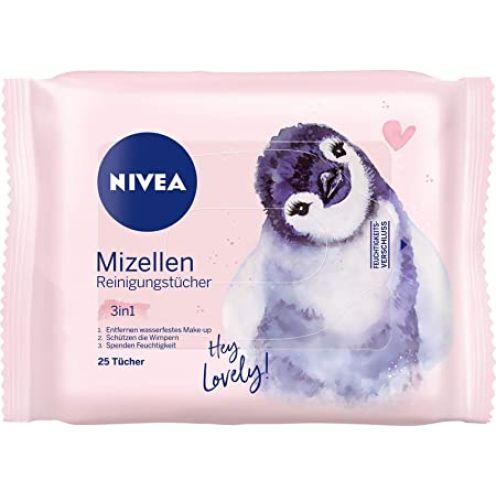 NIVEA 3-in-1 Mizellen Reinigungstücher