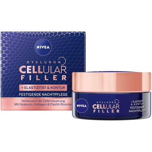 NIVEA Hyaluron Cellular + Elastizität und Kontur Nachtpflege