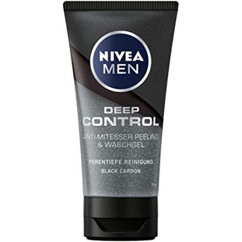 NIVEA MEN Deep Control Anti-Mitesser Peeling und Waschgel
