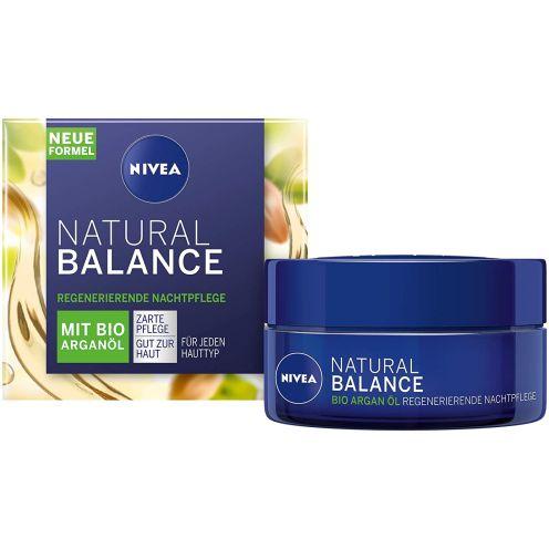 NIVEA Natural Balance regenerierende Nachtpfleg