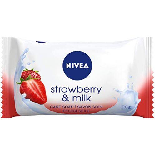 NIVEA Strawberry & Milk Pflegeseife