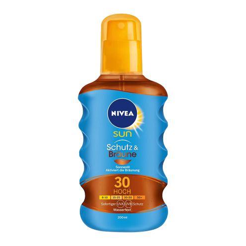 NIVEA Sun Schutz & Bräune Sonnenöl-Spray