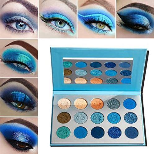 Afflano 15 Colors eyeshadow palettes