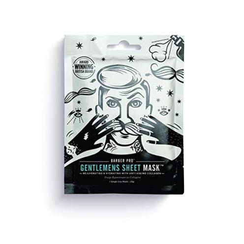 BeautyPro Barber Pro Gentlemen'S Sheet Mask Herren Gesichtsmaske