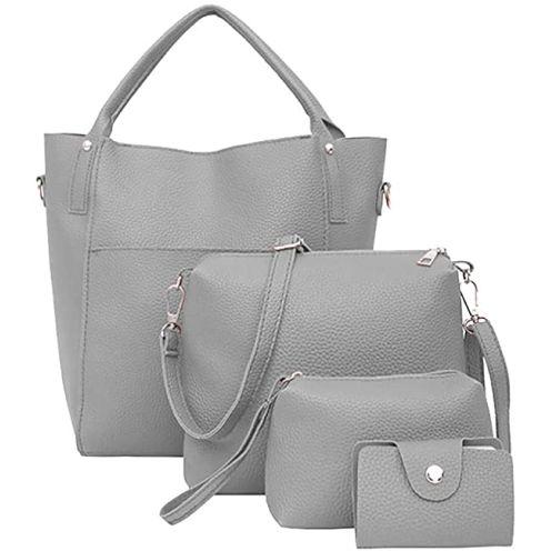 FOANA Damen Handtaschen Set