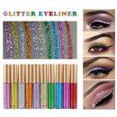 Freeorr 10 Farben Liquid Glitter Eyeliner