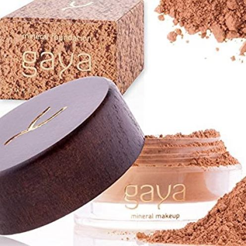 Gaya Cosmetics Foundation Make Up Puder